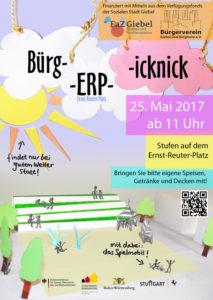 2017-05-25_BürgERPicknick_Poster